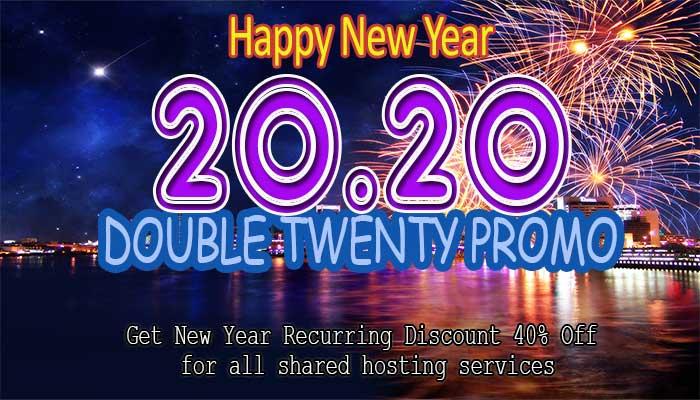 Double Twenty Promo 20.20